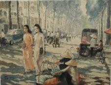 Phố xưa. Saigon